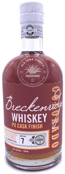 Breckenridge PX Cask Finish Whiskey NO.7  750ml