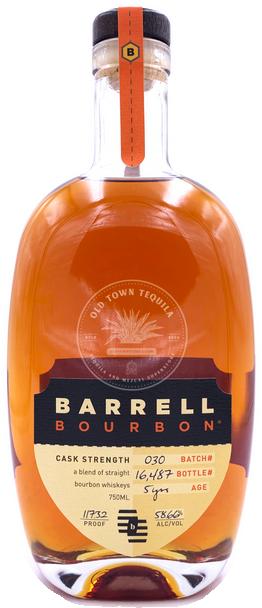 BARRELL BOURBON 750ml