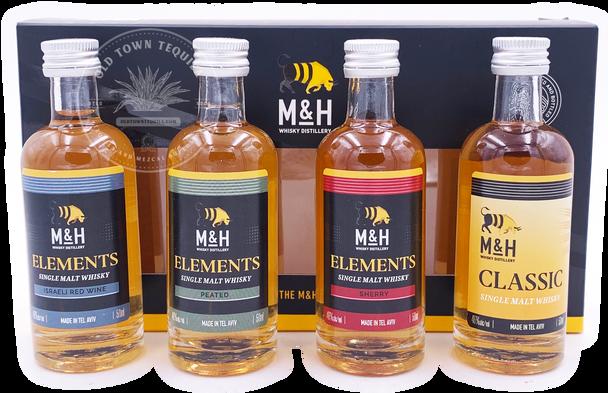 M&H Whisky Variety Pack 4x50ml