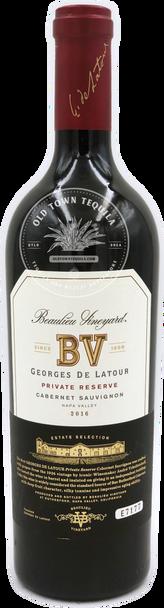 Beaulieu Vineyard Georges de Latour Private Reserve Cabernet Sauvignon Napa Valley 2016 Estate Selection