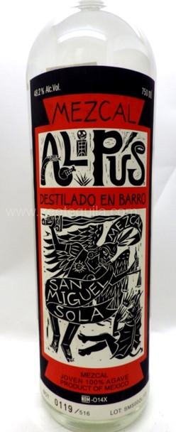 Mezcal Alipus San Miguel Destilado En Barro