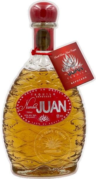 Number Juan Reposado Tequila 750ml