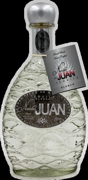 Number Juan Blanco Tequila 750ml