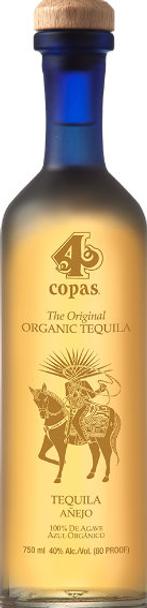 4 Copas Organic Anejo Tequila