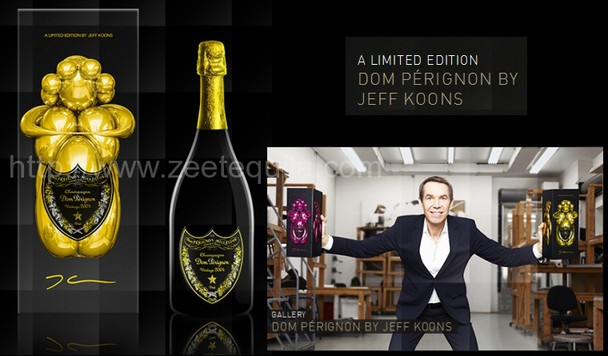 Dom Perignon Jeff Koons Limited Edition 2004