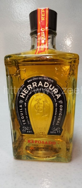 Herradura Reposado tequila 1.75L (1/2 Gallon)