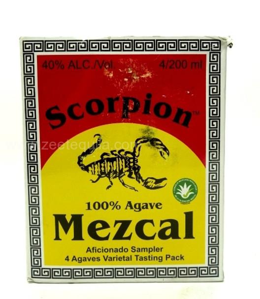 Scorpion Mezcal Aficionado Sampler