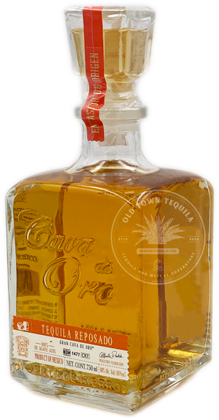 Cava De Oro Tequila Reposado 750ml