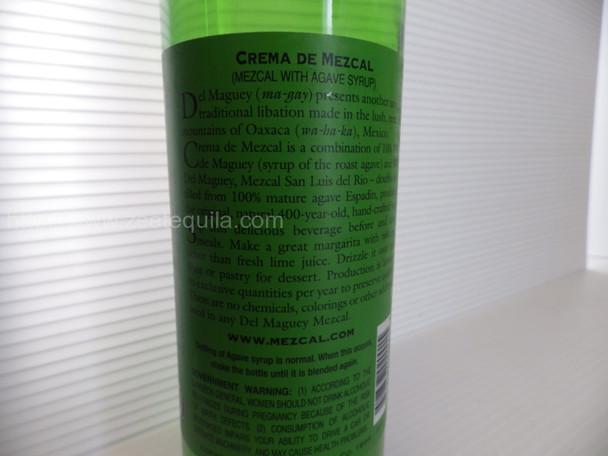 Del Maguey Crema De Mezcal 750ml