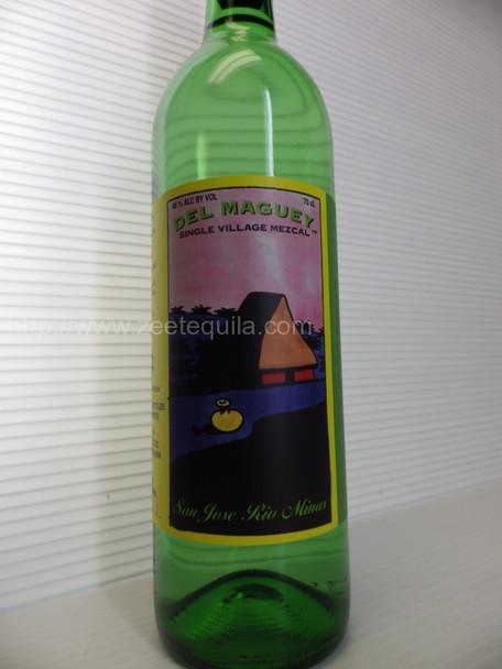 Del Maguey Single V Mezcal San Jose Minas Limited release edition