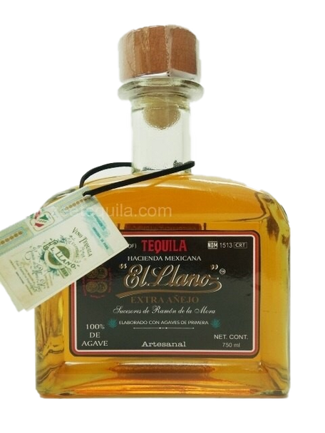 EL Llano Extra Anejo tequila