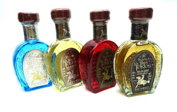 Tequila Los Tres Tonos Set (MINI) 50ml