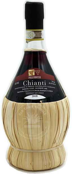 Poggiobasso Chianti Red Wine 2018