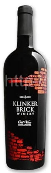 KLINKER BRICK WINERY- OLD VINE ZINFANDEL 2011