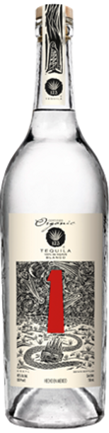 123 Organic Blanco Tequila Uno