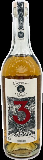 123 Organic Anejo Tequila Tres