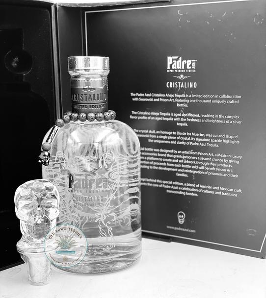 Padre Azul Limited Edition Cristalino Super Premium Añejo Tequila