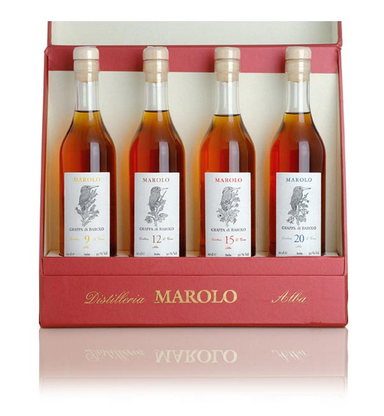 Marolo Grappa di Barolo Four Vintages