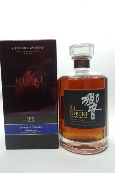SUNTORY HIBIKI 21 YEARS JAPANESE WHISKY