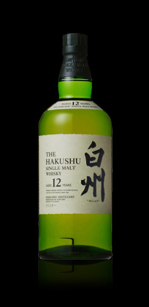 The Hakushu Japanese whisky 12yr old
