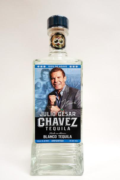 Julio Cesar Chavez Blanco Tequila