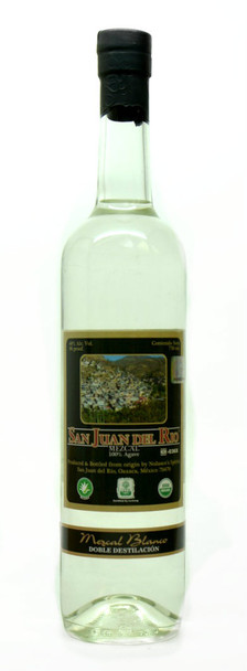 San Juan Del Rio Organic Mezcal Blanco