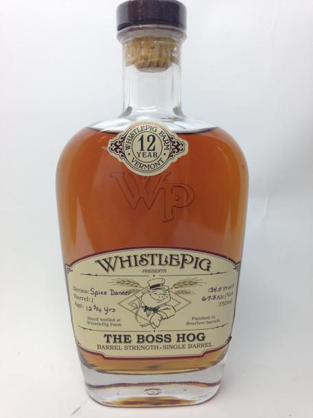 Whistlepig farm The Boss Hog 12 year Bourbon