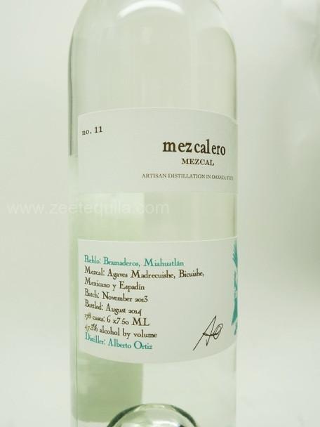 Mezcalero NO.11 Mezcal