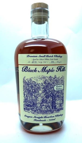 BLACK MAPLE HILL BOURBON WHISKEY