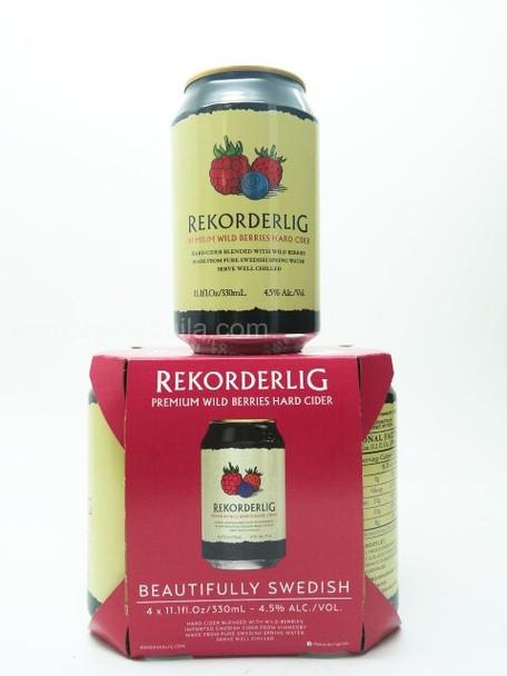 REKORDERLIG Hard Cider (Wild Berries) 4pk
