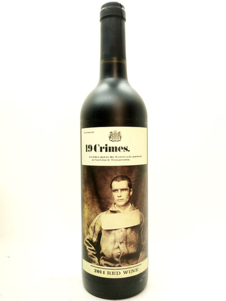 19 Crimes 2014 Red Wine