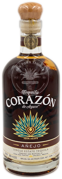 Corazon Anejo Single Estate Tequila