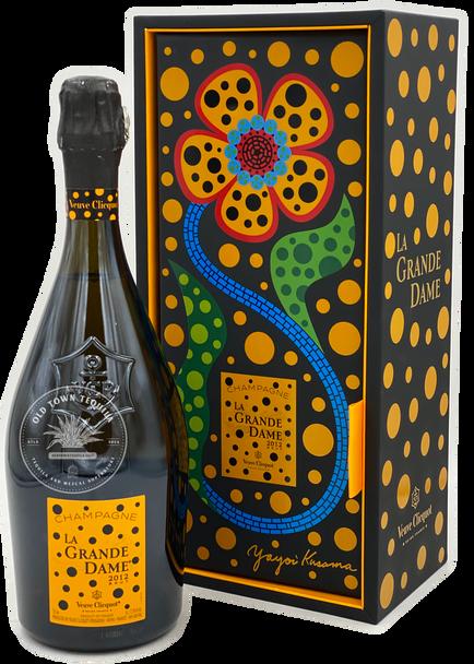Veuve Clicquot La Grande Dame 2012 Brut Champagne by Yayoi Kusama