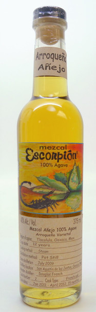 ESCORPION ARROQUENO VARIETAL ANEJO MEZCAL 375 ML