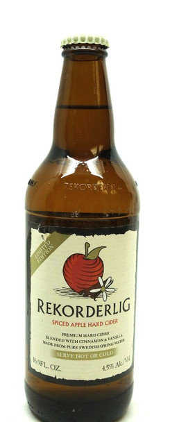 REKORDERLIG SPICED APPLE HARD CIDER