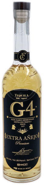 G4 Extra Anejo Tequila