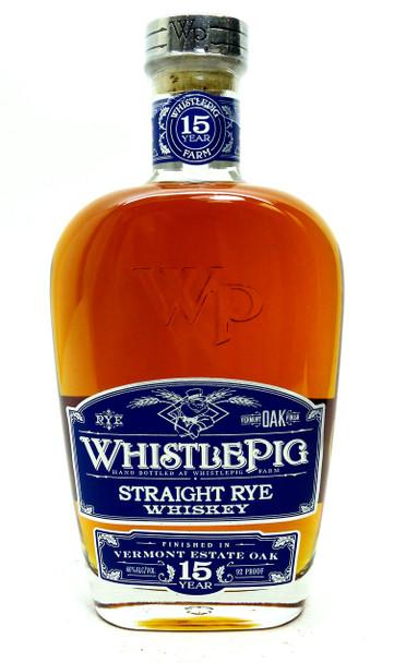 Whistlepig Estate Oak Rye Whiskey 15Yr