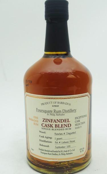 FOURSQUARE RUM DISTILLERY ZINFANDALE CASK 11 YEARS
