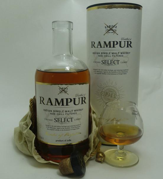 RAMPUR SINGLE MALT INDIAN WHISKY