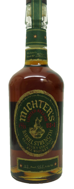 Michter's Limited Release Barrel Strength Rye