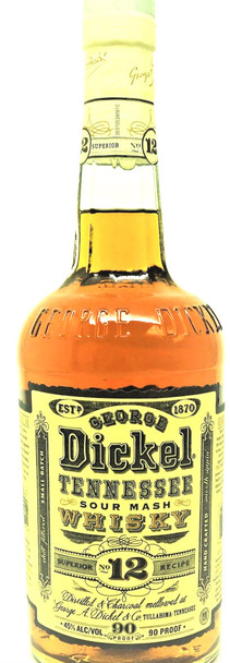 George Dickel No 12 Tennesse Sour Mash