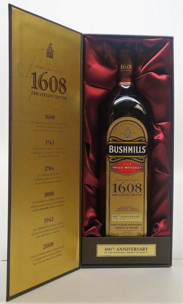 Bushmill S Irish Whiskey 1608 Anniversary Edition Old