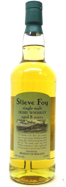 Slieve Foy Single Malt Irish Whiskey 8 years
