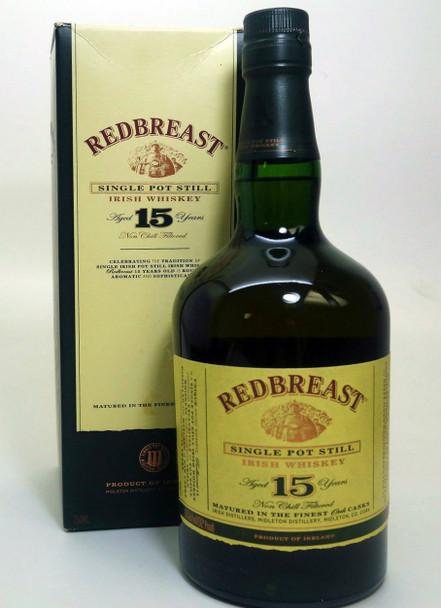 REDBREAST 15 years Single Pot Still Irish Whiskey