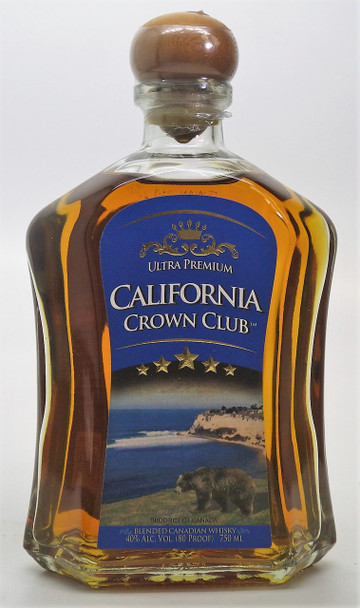 California Crown Club Blended Canadian Whisky