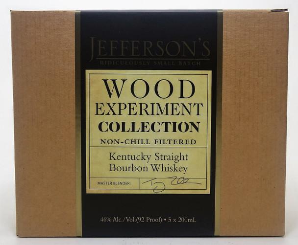 Jefferson's Bourbon Whiskey Ridiculously Small Batch Box Set (5)