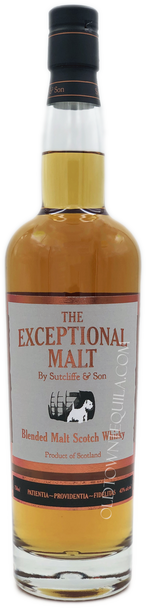 The Exceptional Malt by Sutcliffe and Son Blended Malt Scotch