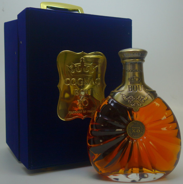 Bou Cognac XO France Gift Set with Two Glasses