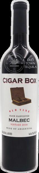 Cigar Box Old Vine Hand Harvested Malbec Vintage 2018 Argentina
