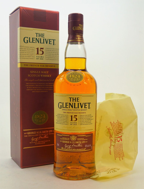 The Glenlivet Single Malt 15 years